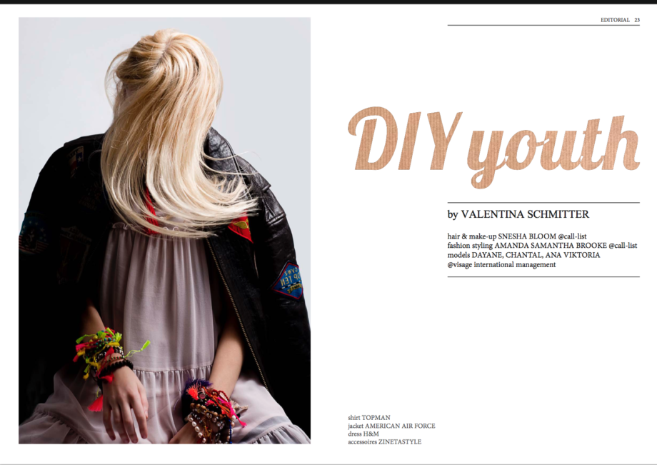 asym. magazine DIY youth
