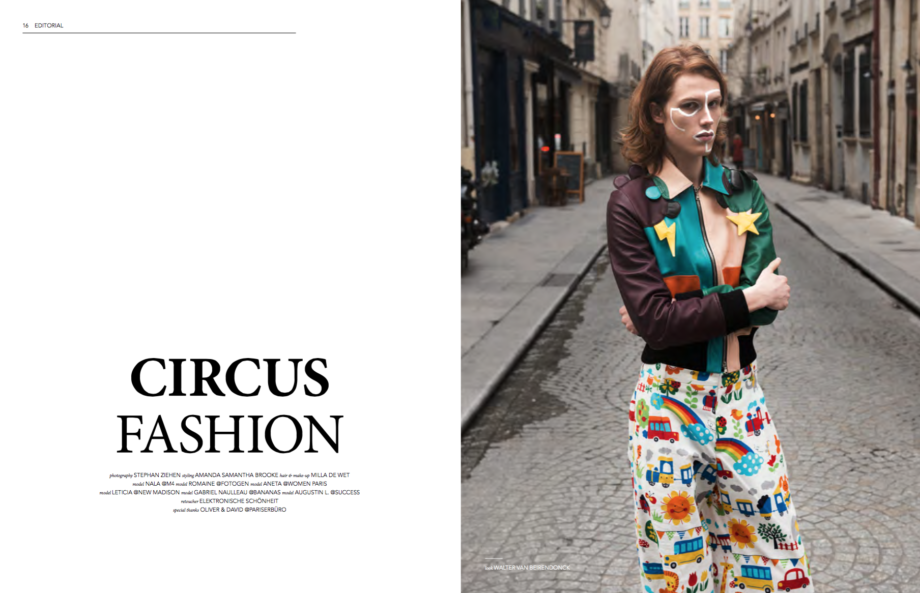 FASHION CIRCUS photo STEPHAN ZIEHEN